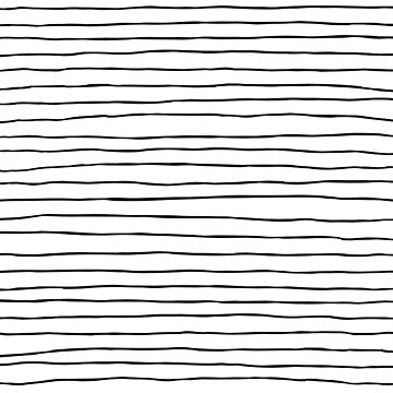 Thin modern wiggly paintbrush stripes by UDDesign