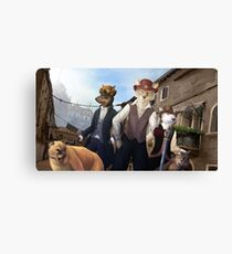 Renaissance Fair Canvas Print