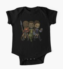 Panther Trio Short Sleeve Baby One-Piece
