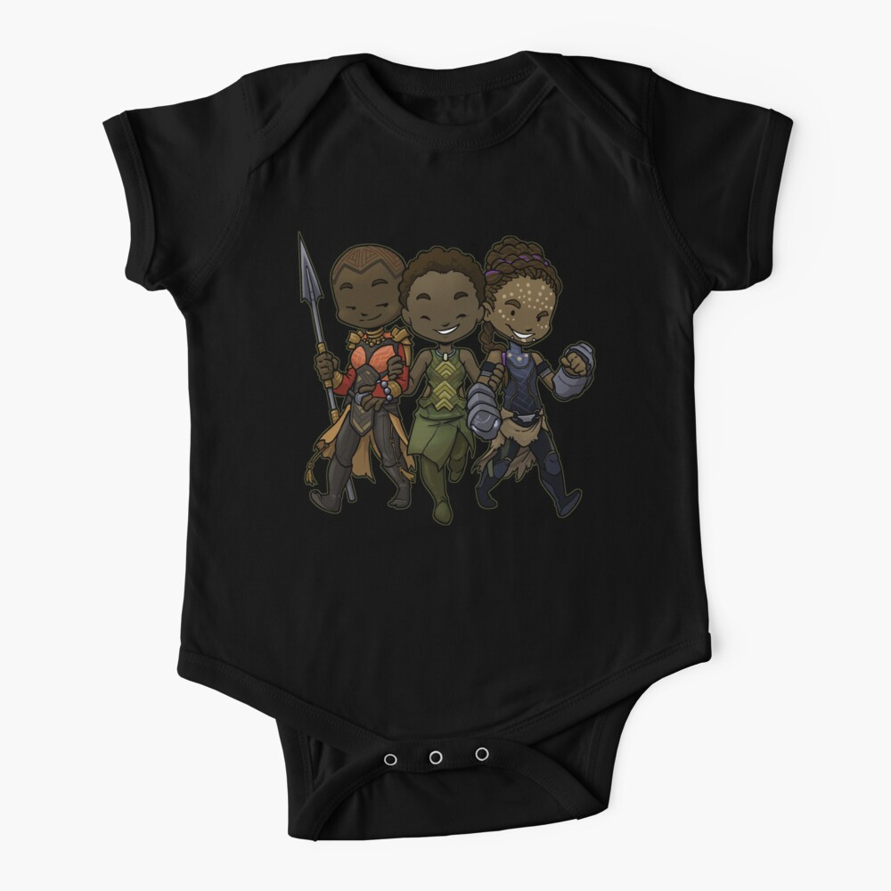Panther Trio Baby One-Piece