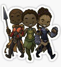 Panther Trio Sticker