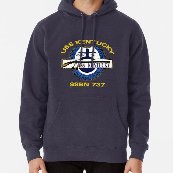 Official Logo of USS Georgia Mens Hooded Sweatshirt