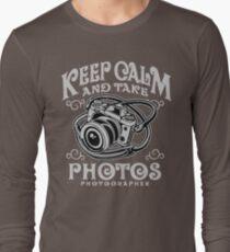 Keep Calm & Take Photos Long Sleeve T-Shirt