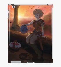Terrene Odyssey - Zowie Poster iPad Case/Skin