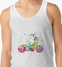 Motorcycle ap127-7 Tank Top