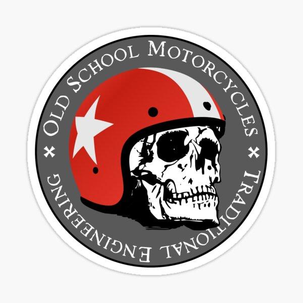 Old Moto Ecole Sticker