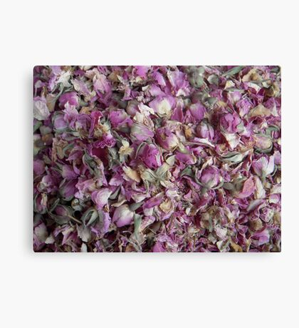 Moroccan roses Canvas Print