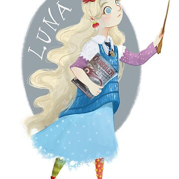 Luna Lovegood by MiMoCreative