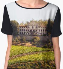 Tuscany Mansion - Italy Chiffon Top