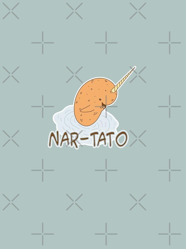 NAR-TATO - Narwhal Potato Hybrid by jitterfly