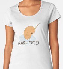 NAR-TATO - Narwhal Potato Hybrid Women's Premium T-Shirt