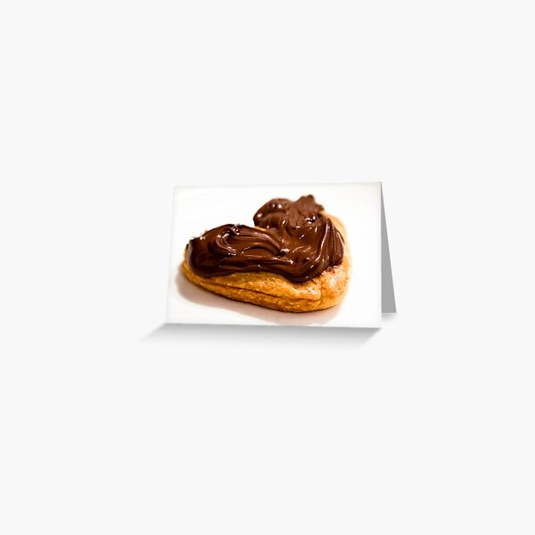 Ode to Nutella Greeting Card