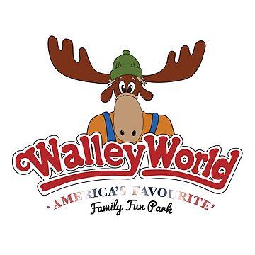 Walley World - America's Family Fun Park Logo by Purakushi