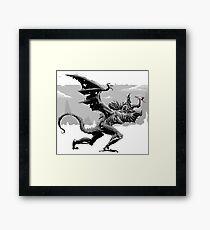 Dragonslayer For the Win Framed Print