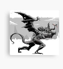 Dragonslayer For the Win Canvas Print