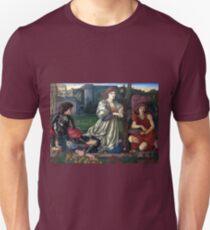 Edward Burne-Jones The Love Song Unisex T-Shirt