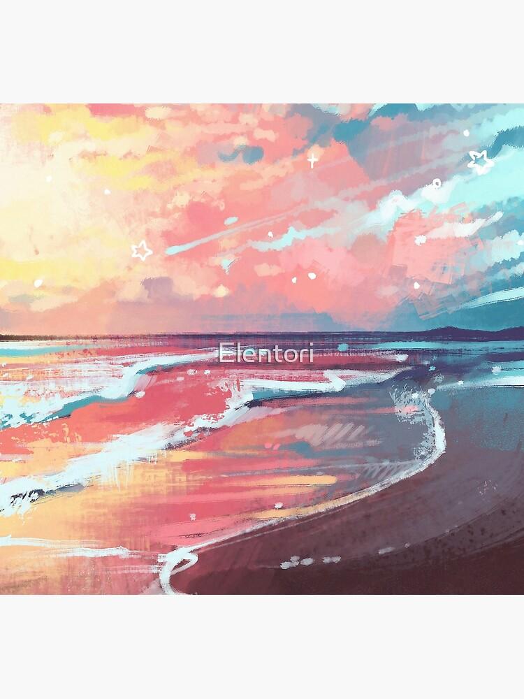 «Étude de la mer» par Elentori