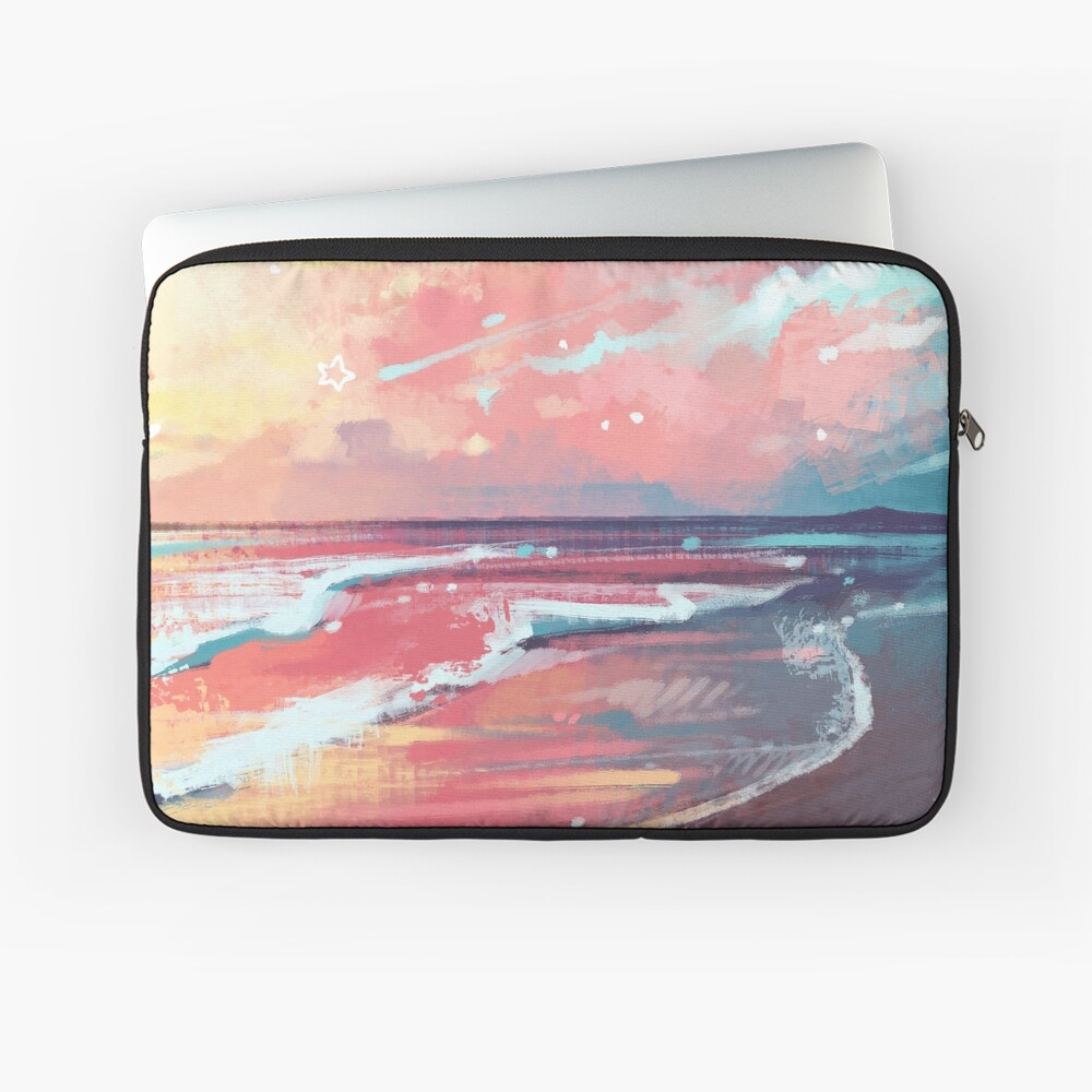 Study of the Sea Laptop Sleeve
