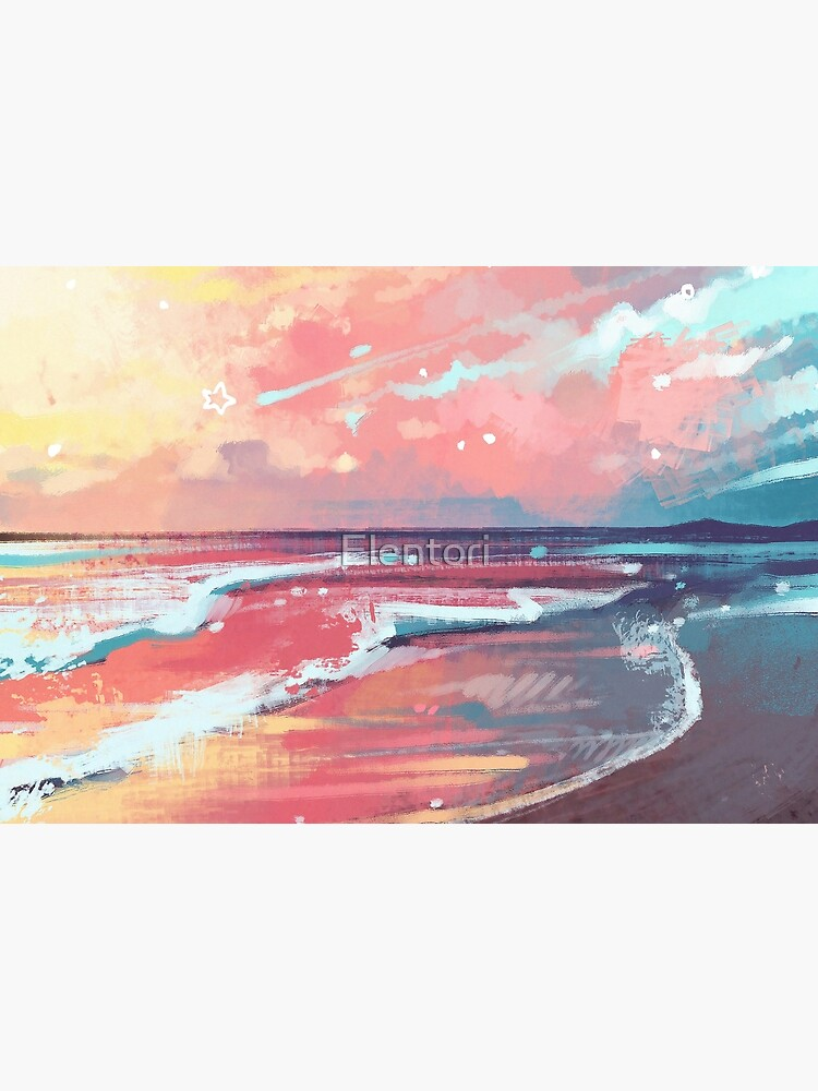 Study of the Sea by Elentori