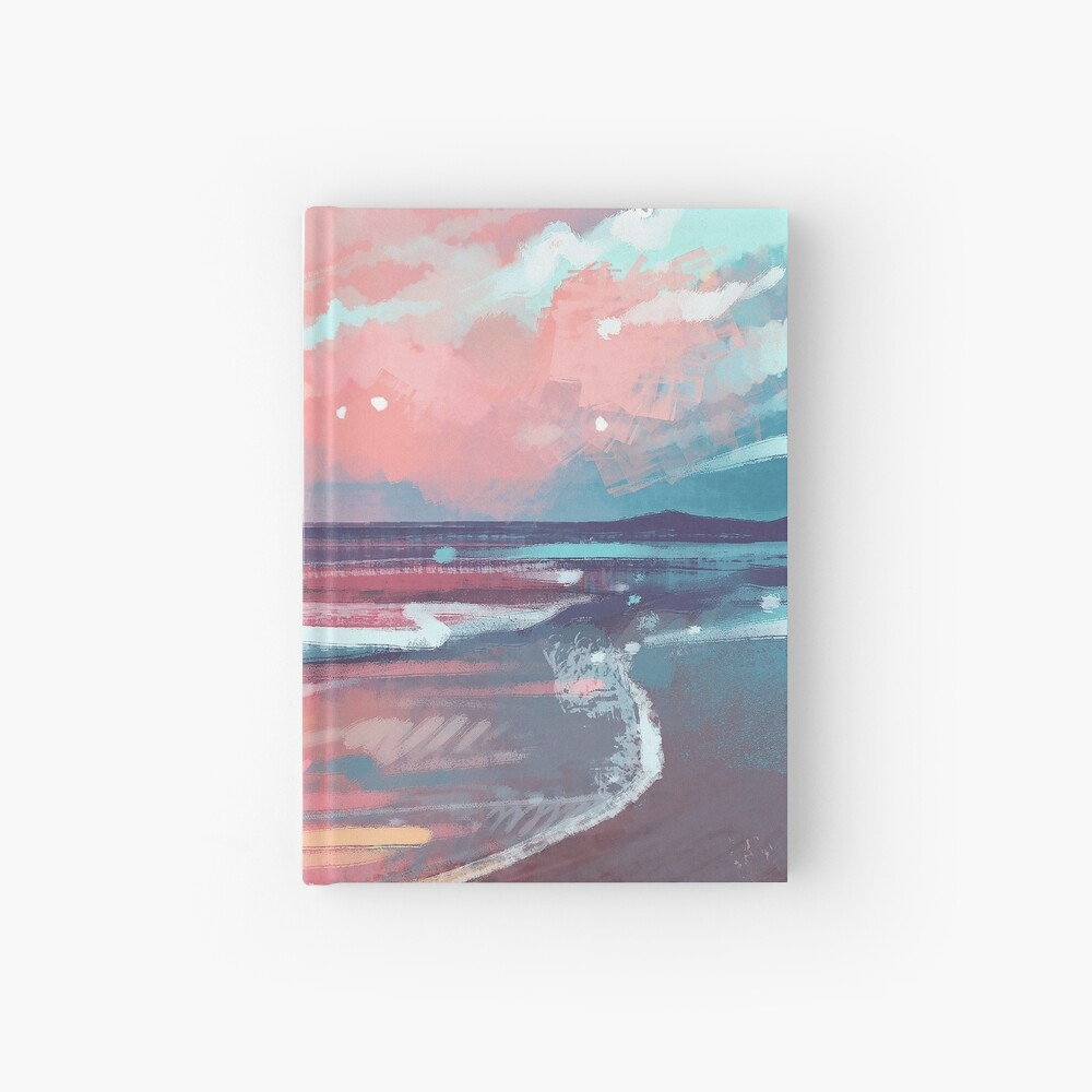 Study of the Sea Hardcover Journal