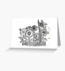 Flower no. 5 Greeting Card