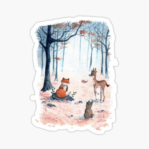 forêt Sticker