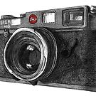 Leica M6 Camera Sketch by Derek Michael Brennan
