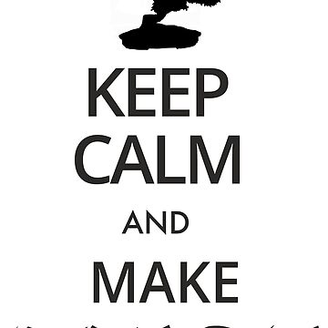 Keep calm and make bonsai by zibik-design