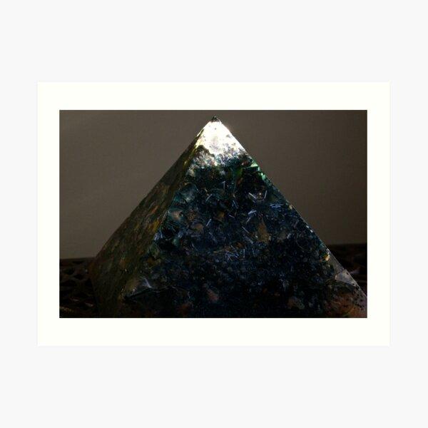Black Pyramid Art Print