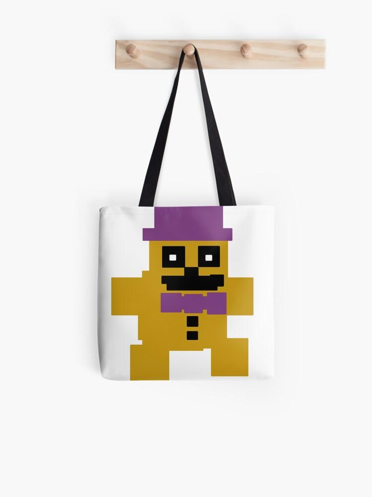 FNAF Psychic Friend Fredbear 8-bit | Tote Bag