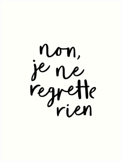 Missing lyrics by Édith Piaf?