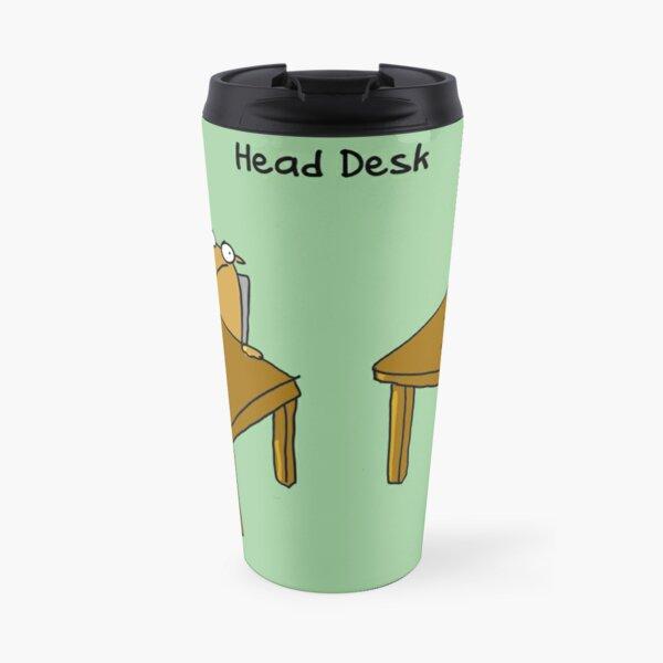 Head Desk Travel Mug