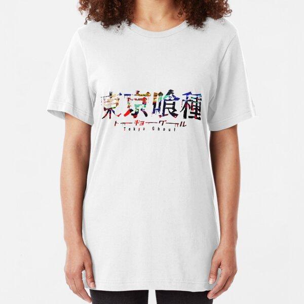 Tokyo Ghoul Colour Splash Logo Slim Fit T-Shirt