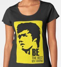 Bruce Lee yellow suit t shirt Bruce Lee Design Women's Premium T-Shirt