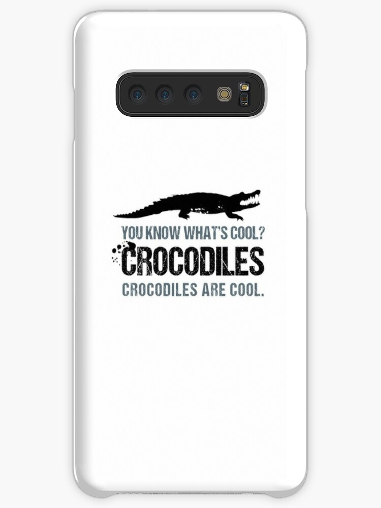 fed95b374e5 'Crocodiles are Cool Funny T-Shirt and Mug' Case/Skin for Samsung Galaxy by  Stressabite