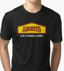 so shoneys so safe  Tri-blend T-Shirt