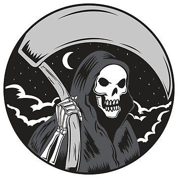 Grim Reaper in the Night by joebarondesign
