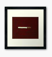 cigarette Framed Print