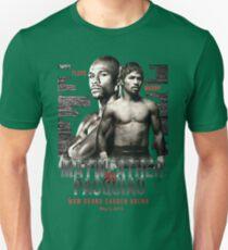 Mayweather vs Pacquiao Shirt  Unisex T-Shirt