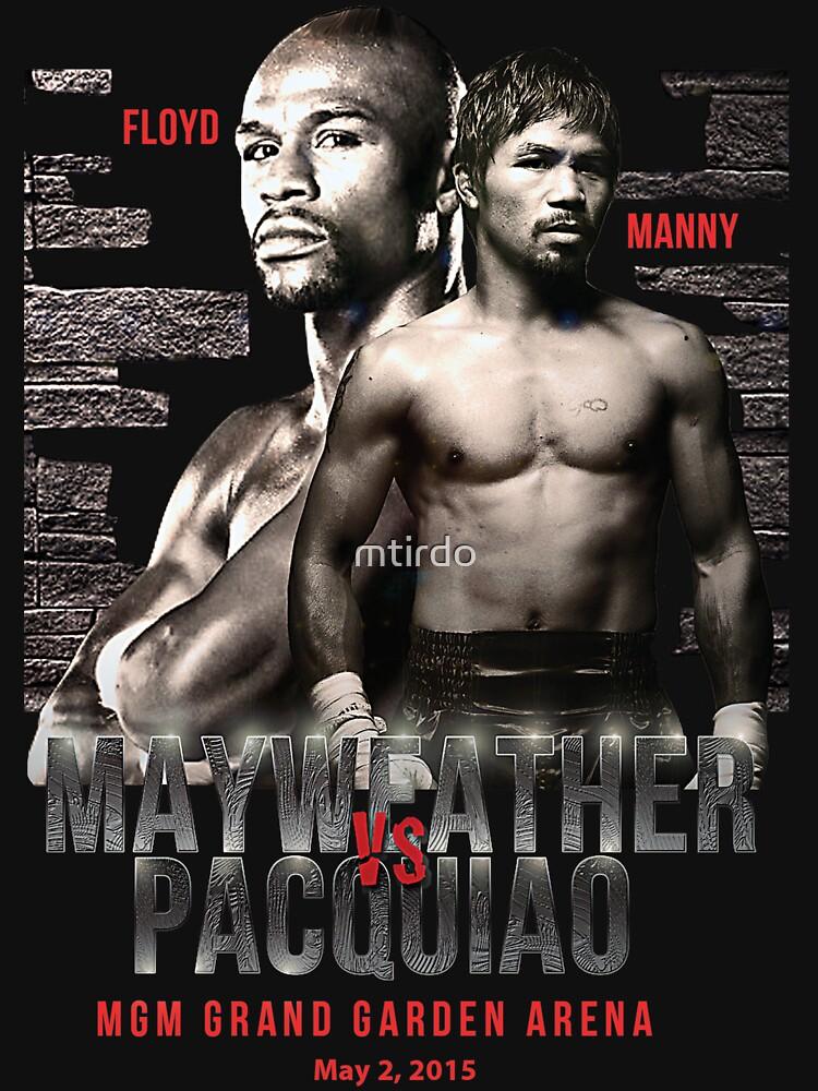 Mayweather vs Pacquiao Shirt  | Unisex T-Shirt