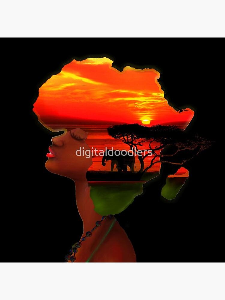 African Sunset by digitaldoodlers