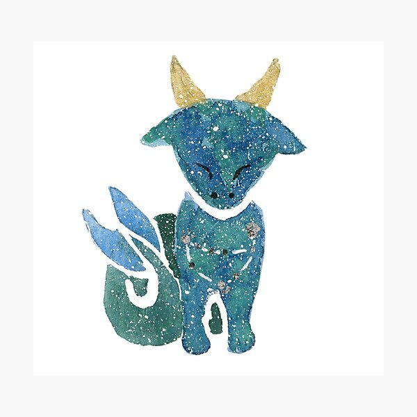 Cutie Capricorn Photographic Print