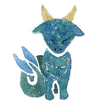 Cutie Capricorn by myartjourney