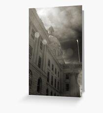 Infrared Legislature Greeting Card