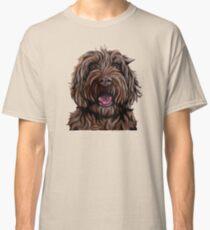 Chocolate Australian Cobberdog/Australian Labradoodle Classic T-Shirt