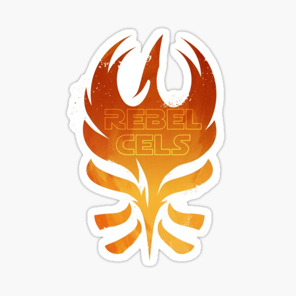 The Rebels Podcast Phoenix Flame Sticker