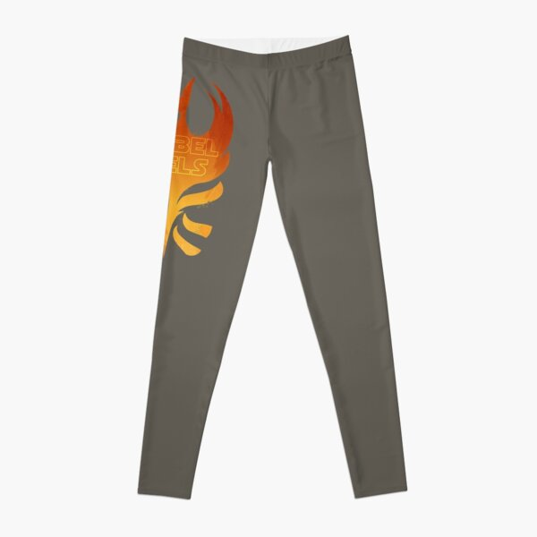 The Rebels Podcast Phoenix Flame Leggings