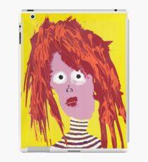 Fille - Martin Boisvert - Faces à flaques Coque et skin iPad