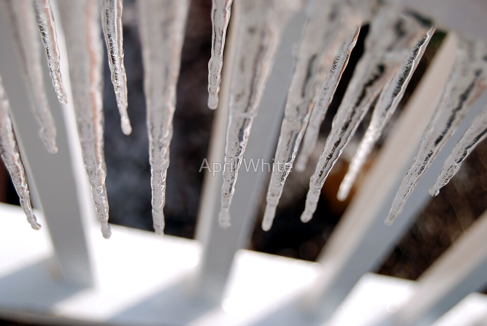 Icicles by April White