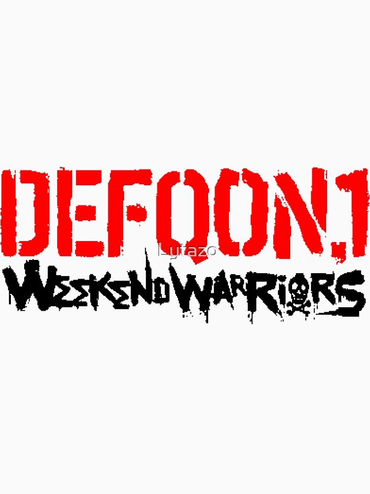 «Week-end warrior» par Lytazo